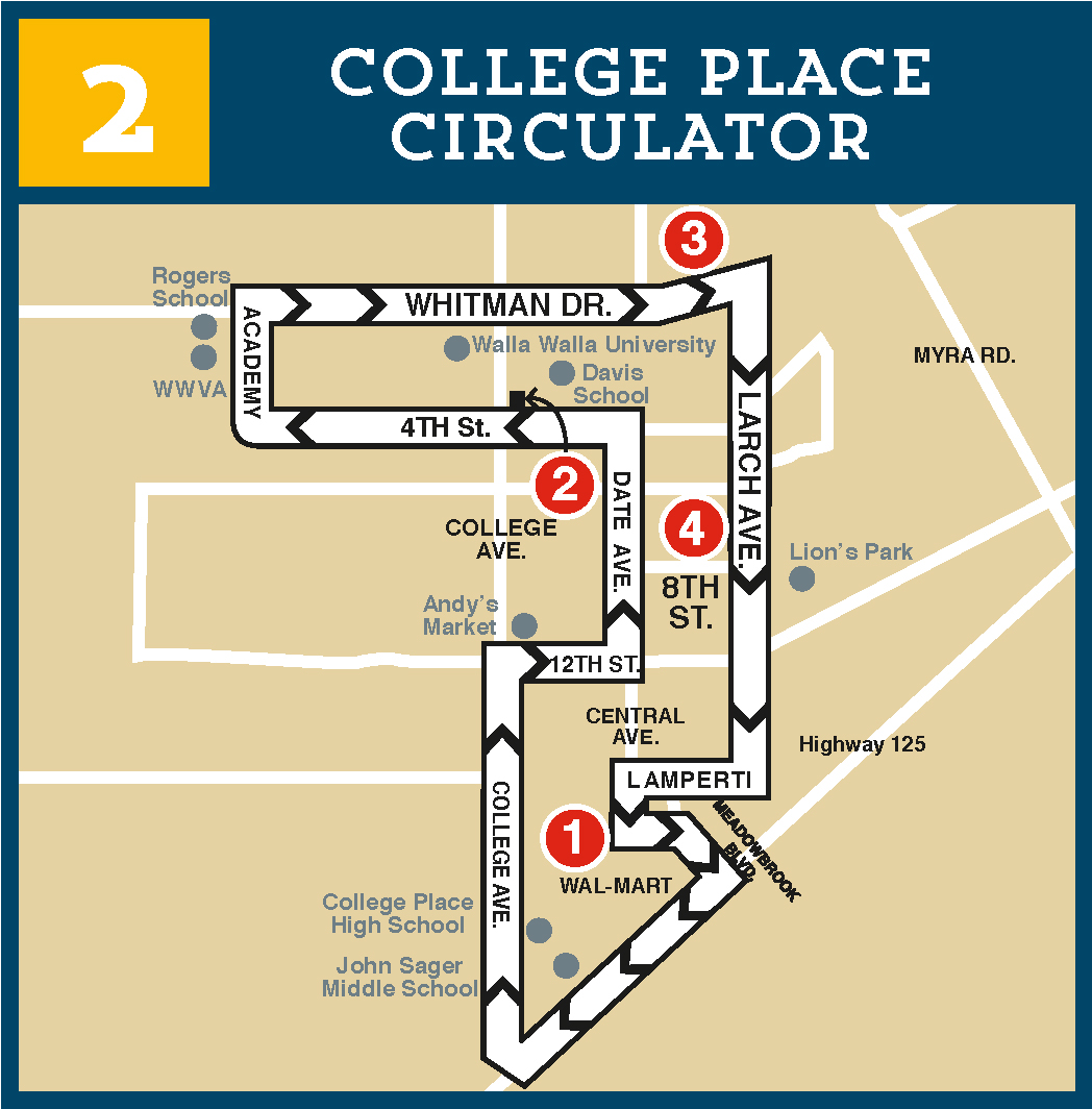 Route 2 College Place