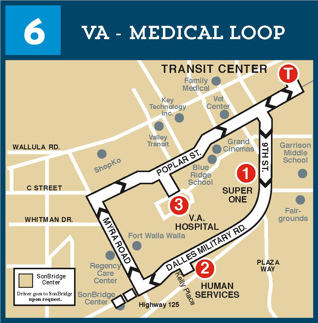 Route 6 VA / Medical Loop