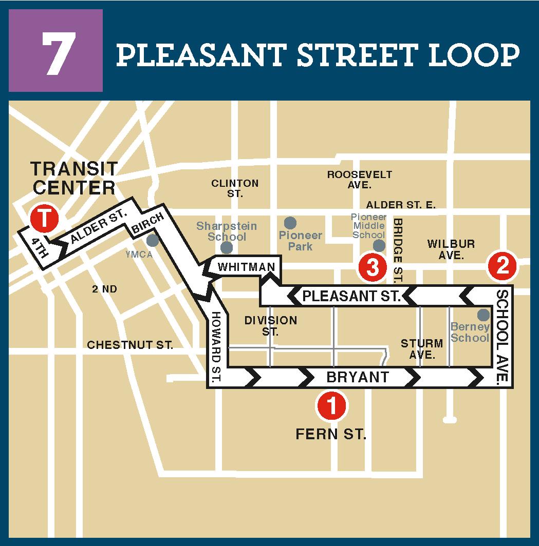 Route 7 Pleasant Street Loop