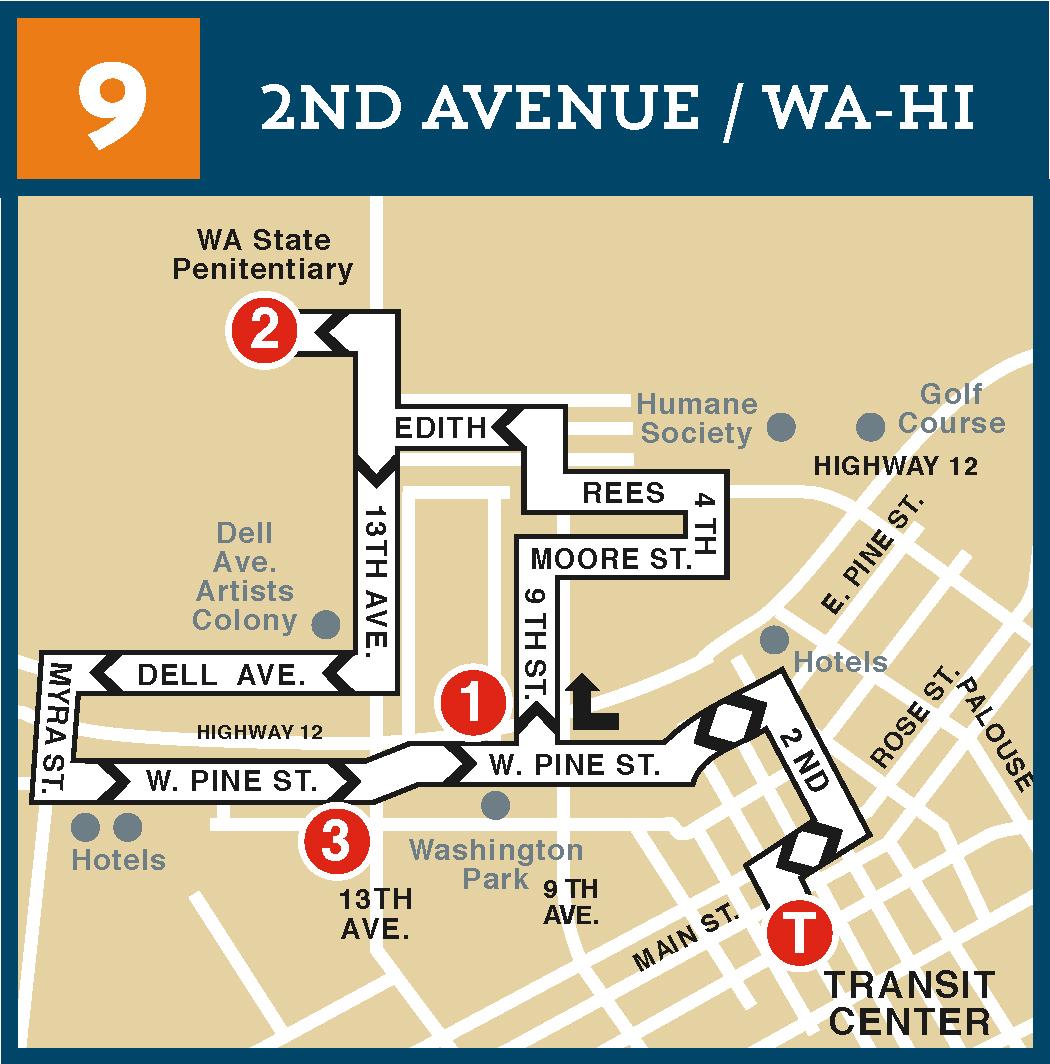 Route 9 Pine Street Loop